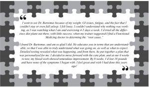Nutrition Testimonial